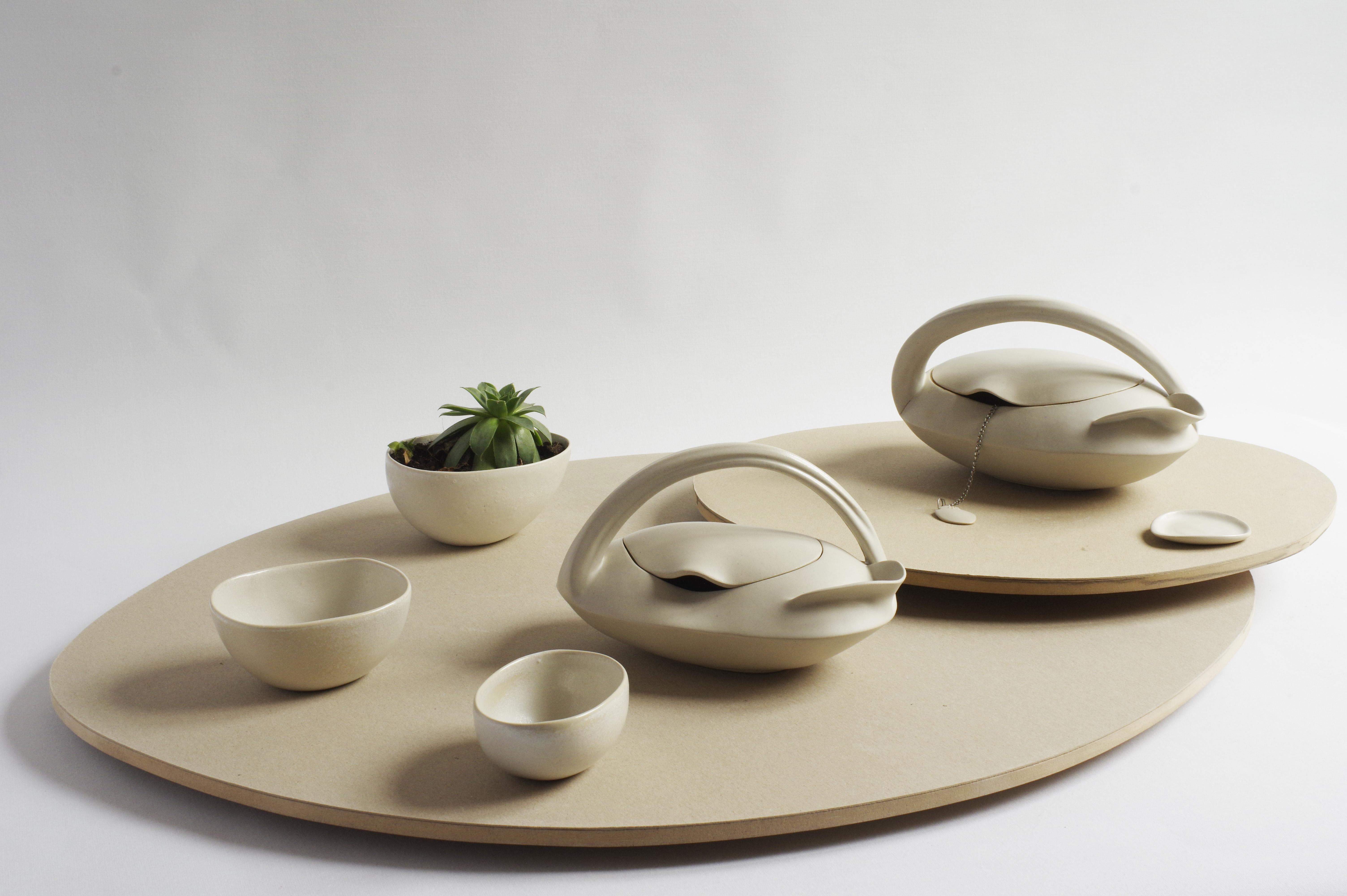 Théière céramique grès art de la table pièce unique artisanat Alsace Ribeauvillé